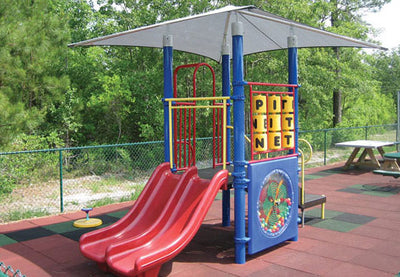 Sportsplay Playground Mounted Shade Structure 10 x 10