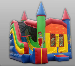 Commercial Grade 4 In 1 Castle Combo Inflatable Bouncer