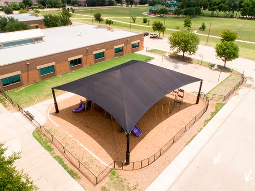 Superspan Hip Roof Shade Structure
