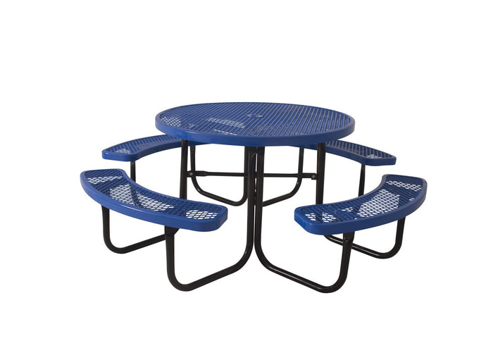 ADA 3-Seat Table with Round Arms