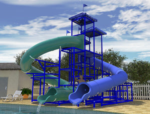 Commercial Water Slide 311