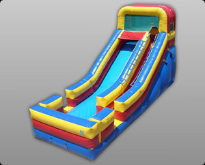 Commercial Grade 18 Foot Inflatable Slide