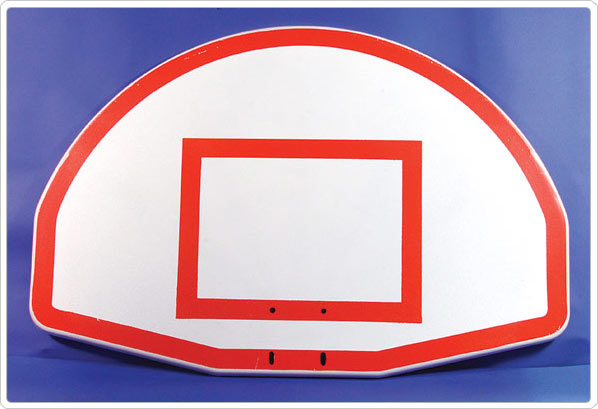 Painted Silkscreen Target and Border For Sportsplay Goals