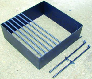 Heavy Duty Campfire Grill 8 Inch High