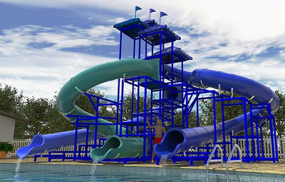 The Indian Ocean Commercial Water Slide