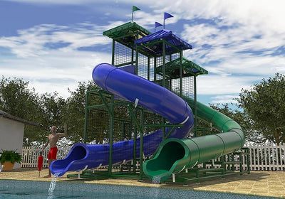 The Gulf of Mexico Commercial Water Slide