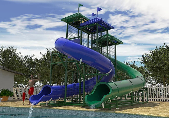 The Gulf of Mexico Water Slide