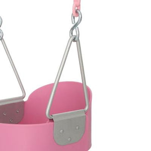 Full Bucket Seat With Chain (Green, Yellow, Blue, or Pink)