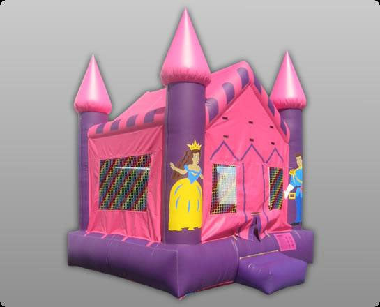 Princess Commercial Bounce House