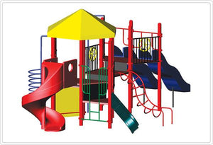 Christel Modular Playground - 3.5 Inch Posts