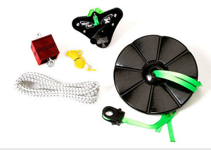 Alien Flier X3 Zip Line Base Kit With 100 Foot Cable