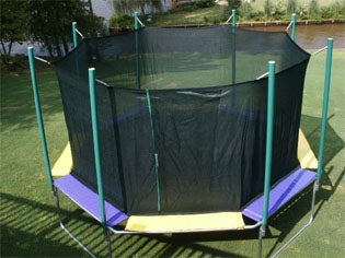 16 Foot Magic Cage Octagon Trampoline Unit