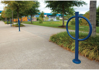 Hitch Post Bicycle Rack | WillyGoat Playground & Park Equipment