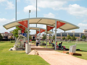 Panorama Cantilever Shade Structure | WillyGoat Parks and Playgrounds