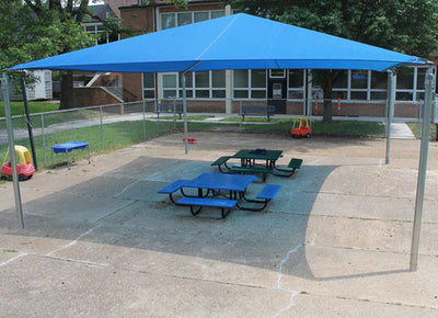 Stand Alone Shade Structure 12 Foot x 20 Foot