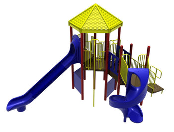 Hot Springs WillyGoat Playground Climber | WillyGoat Playground & Park Equipment