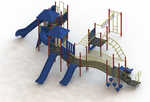 Gila National Deluxe Playground With 3.5 Inch Posts