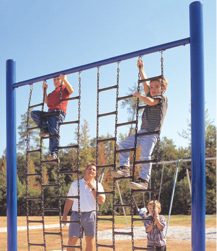 Chain And Rung Climbing Wall