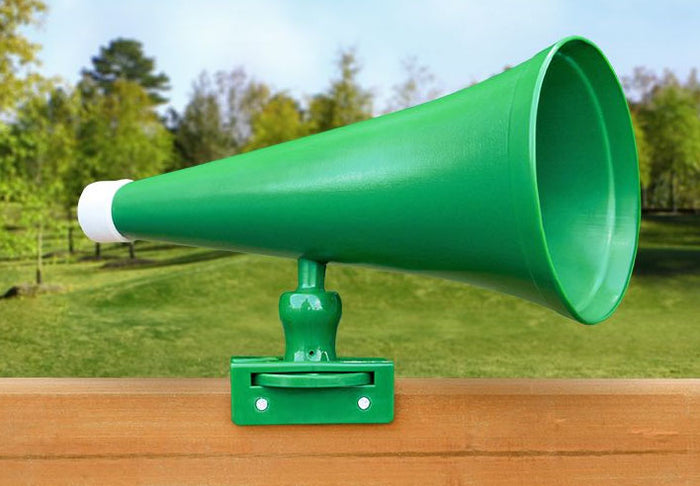 Megaphone Swing Set Accessory