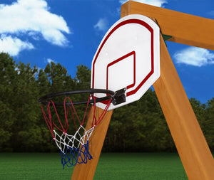 Basketball Hoop Swing Set Accessory