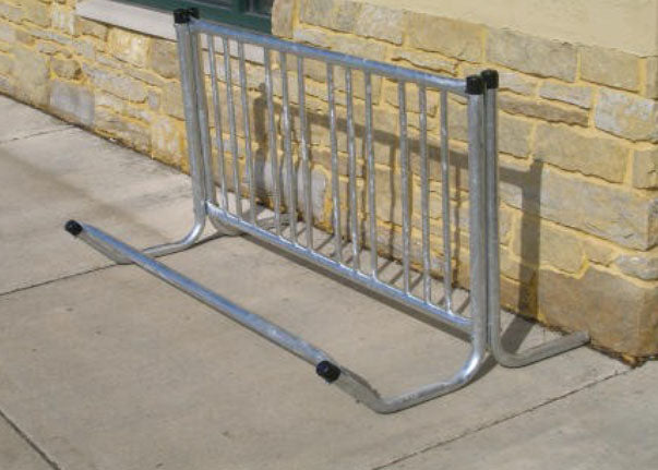 Single-Sided Bicycle Rack (4 bicycles)