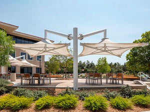 Solana Cantilever Shade Structure | WillyGoat Parks and Playgrounds