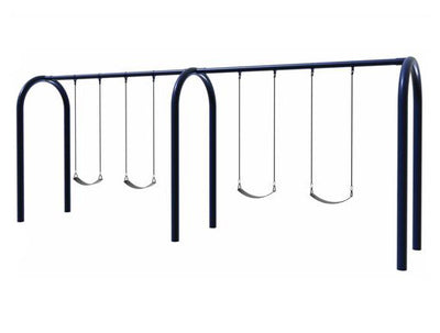 Arch Swing Frame - 8 Swings 5 Inch Post