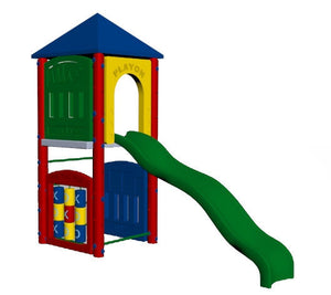 Fort Adams Playground 5 Foot Deck Height