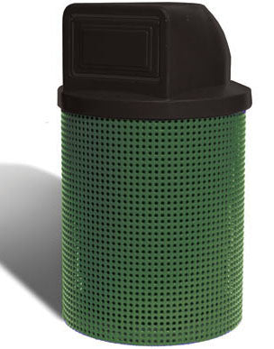 Trash Receptacle 32 Gallon Liner And Top - Set  Of 2