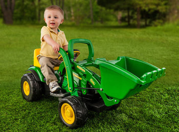 John Deere Mini Power Loader 6 Volt Vehicle