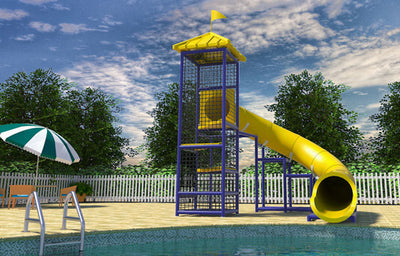 Commercial Water Slide 108