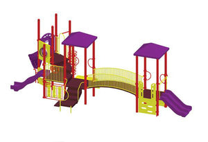 Alex Modular Playground 3.5 Inch Posts