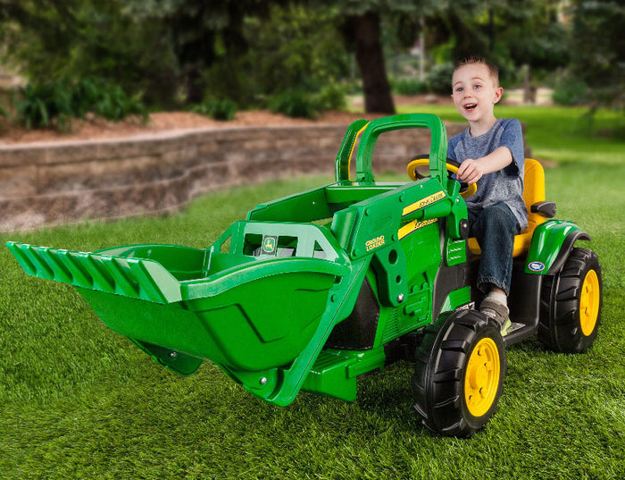 John Deere Ground Loader - 12 Volt Riding Vehicle