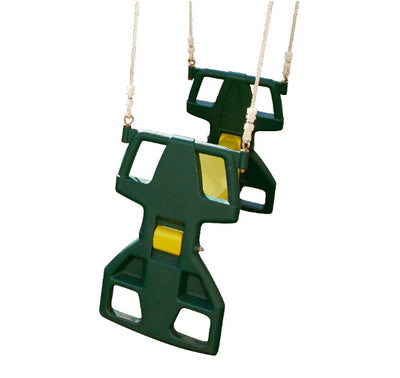 Glider Swing - Green And Yellow