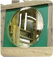 Bubble Dome Panel For Wooden Swing Set - Green