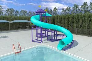 Commercial Water Slide 204