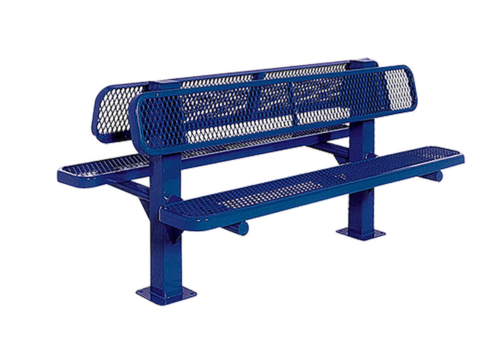 Double Sided Bollard Bench