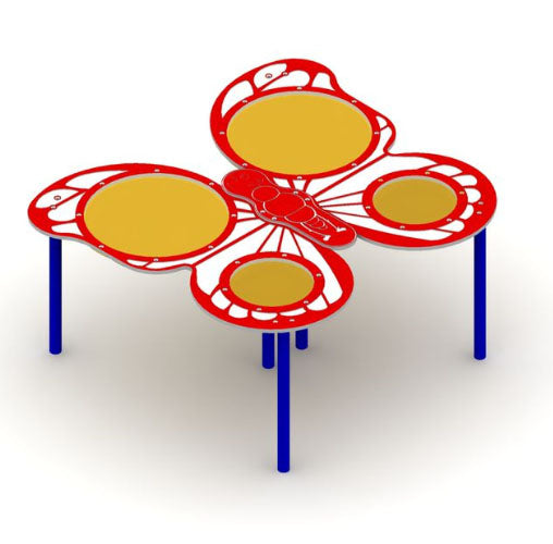 Butterfly Sand And Water Table With 4 Bowls