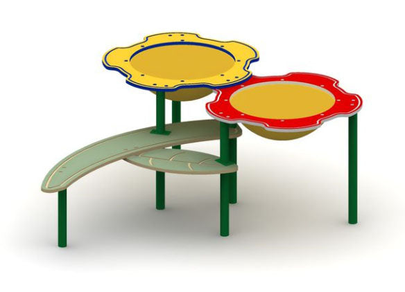 Double Flower Sand And Water Table