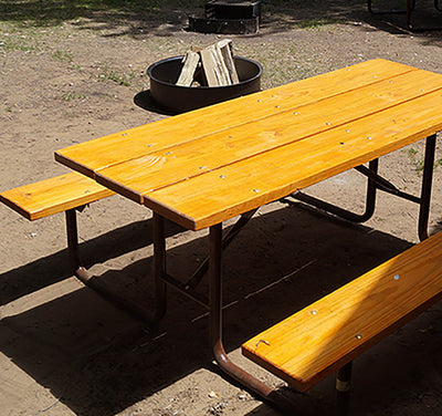Classic Picnic Table Treated Lumber - 8 Foot