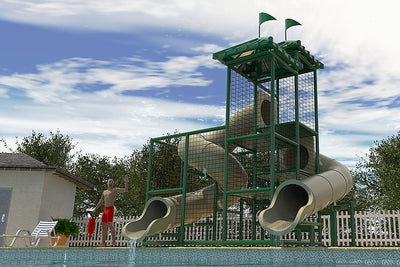 Commercial Water Slide 203+