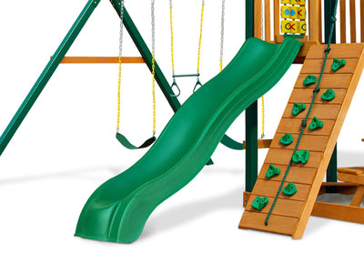 Wave Slide For 4 Foot Deck | WillyGoat Playground & Park Equipment