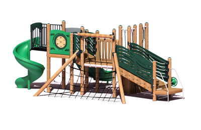 Castaway Play System | WillyGoat Playground & Park Equipment