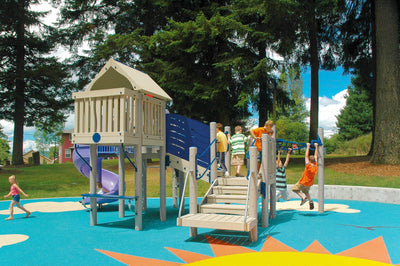 Retreat Play System  | WillyGoat Playground & Park Equipment