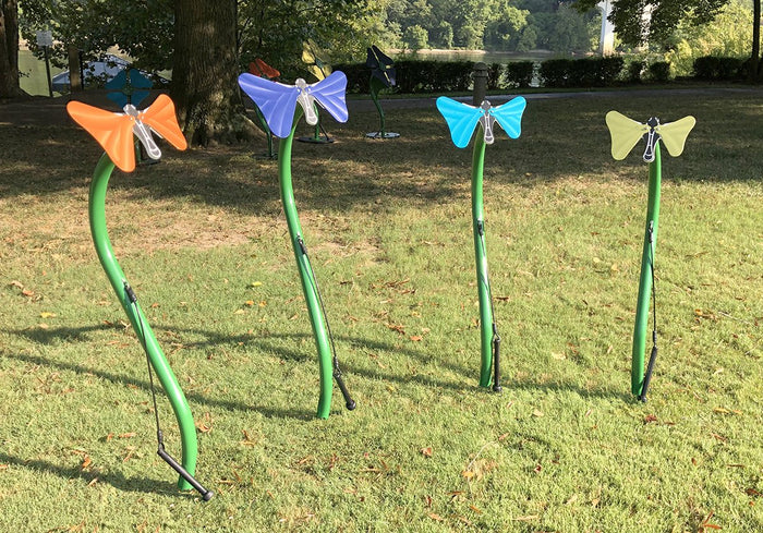 Butterflies Outdoor Musical Park Instrument - Freenotes Harmony Park