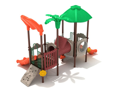 Continuous Canopy Playground | WillyGoat Playground & Park Equipment