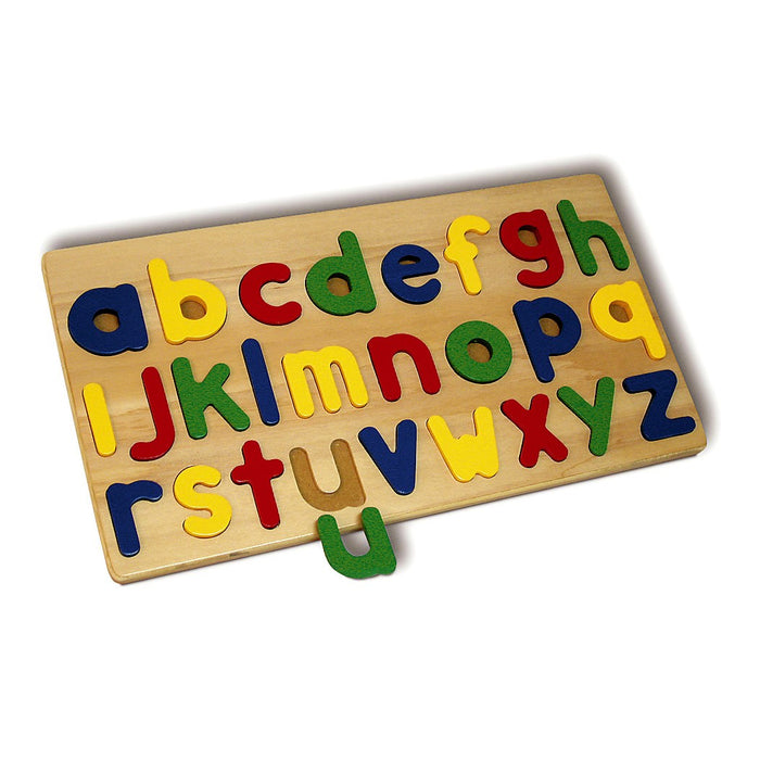 Lower Case Alphabet Puzzle