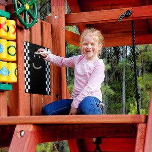 Chalkboard Swing Set Accessory