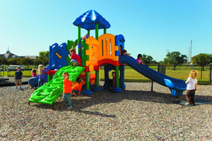 Discovery Center 5 Playground | WillyGoat Playground & Park Equipment