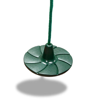 Disc Swing - Green | WillyGoat Playground & Park Equipment